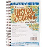 "Strathmore Visual Journal Watercolor 5.5""X8""-22 Sheets"