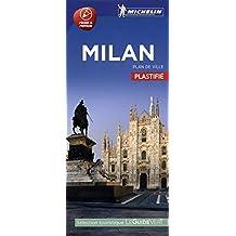 Milan : Plan de ville plastifié