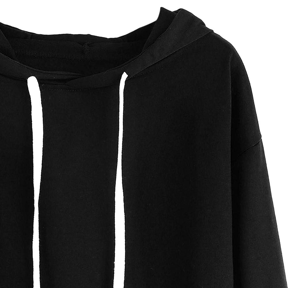 Amazon.com: Clearance Sale Gallity Womens Sweatshirt Long Sleeve Letter Print Patchwork Hooded Tops (XL, Black): Garden & Outdoor