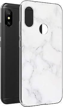 Pnakqil Funda Xiaomi Mi A2 Lite, Silicona Transparente con Dibujos ...