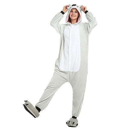 SHANGXIAN Animal Koala Pijama Kigurumi Adulto Unisexo Otoño Invierno Cosplay Disfraces Dibujos Animados Disfraz De Rendimiento