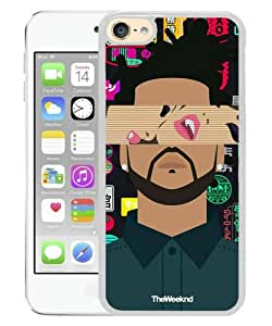 Unique iPod Touch 6 Case ,The Weeknd White iPod Touch 6 Skin Beautiful And Fashionable Custom Designed Phone Case