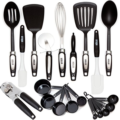 HULLR 20-Piece Premium Cooking Kitchen Utensils Tool & Gadget Set