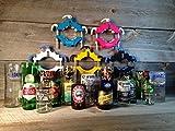Kinkajou  Bottle Cutter, Flaschenschneider, Glasflaschenschneider schwarz-blau