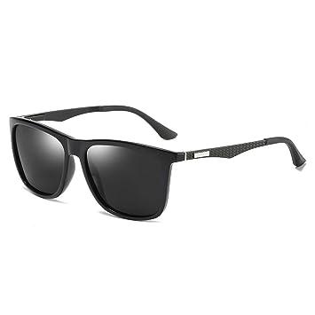 I Kua Fly Gafas de Sol Hombre, Gafas de Sol Polarizadas al Aire Libre para