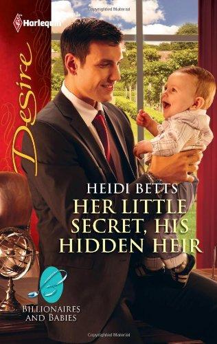book cover of Her Little Secret, His Hidden Heir