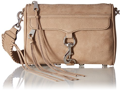 Rebecca Minkoff Mini Mac with Guitar Strap, Sandstone (Mac Minkoff Rebecca Mini)