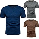Mens T-Shirt,Summer O-Neck Tee Shirt Boys Mens