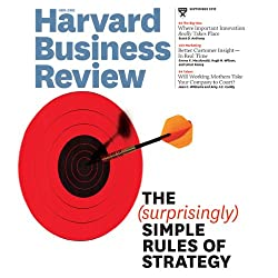 Harvard Business Review, September 2012
