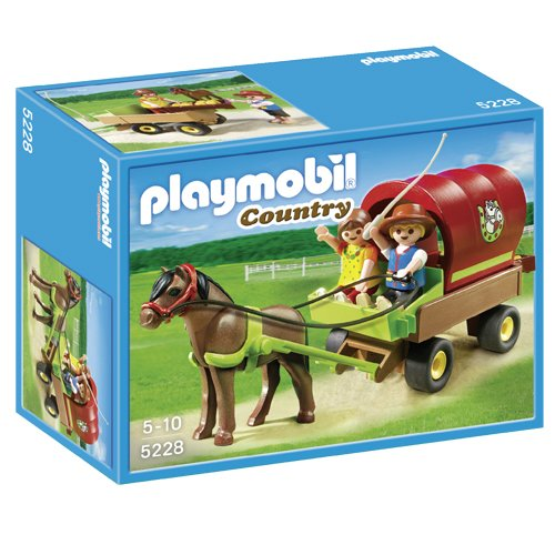 PLAYMOBIL® Children's Pony Wagon