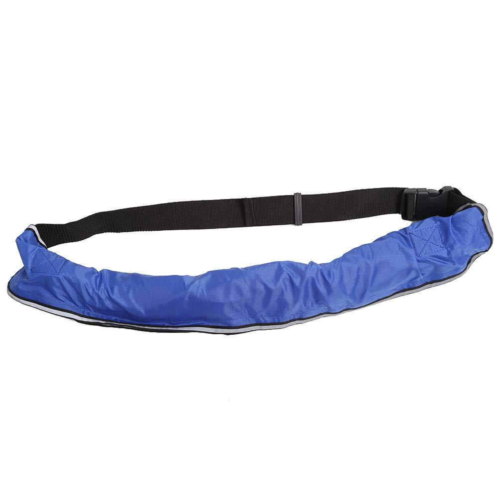 【オンラインショップ】 Cocoarm インフレータブルライフジャケット Cocoarm B07M98WG57 ウエストベルト 反射テープとホイッスル浮き具付き 5色 5色 ブルー B07M98WG57, モオカシ:b29189e3 --- a0267596.xsph.ru