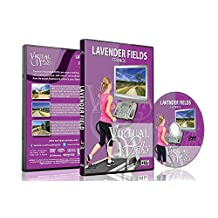 Virtual Walks - Lavander Fields, France for Indoor Walking, Treadmill and Cycling Workouts