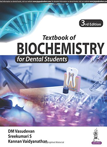 Textbook of Biochemistry for Dental Students, 3rd Edition Front Cover