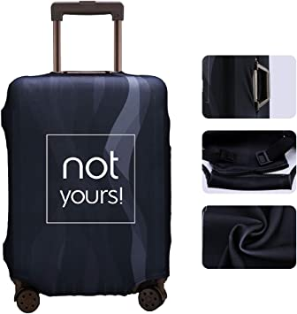 Luggage Cover QAnon Are You Paying Attention Protective Travel Trunk Case Elastic Luggage Suitcase Protector Cover