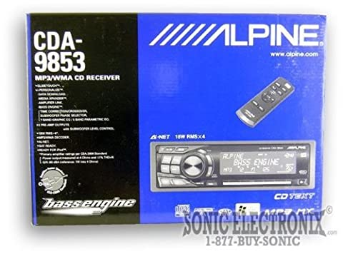 Alpine CDA-9853 CD/MP3/WMA Receiver (98 Cherokee Stereo Alpine)