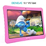 10 inch Kid Tablet, 1080p Full HD Display Android 7.0,2GB+32 GB,Dual Camera Front 2MP+ Rear 5MP,Bluetooth and WiFi w/Kid-Proof Case …