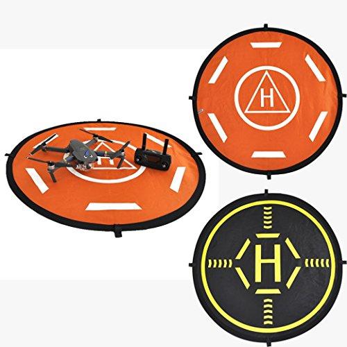 Alonea Landing Pad Helipad Foldable for DJI Phantom 4 3 Mavic Pro Drone RC Quadcopter (As Shown) by Alonea