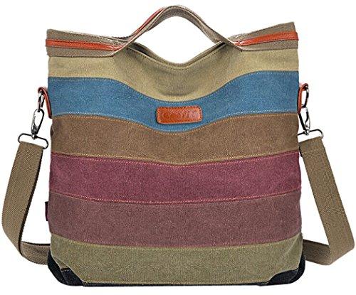 Coolfit Damen Handtasche / Umhängetasche Multifunktion mit Schulterträger