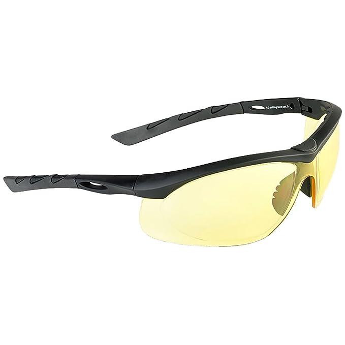 Swiss Eye Lancer Occhiali Da Sole Lenti Fuma Nera Gomma Cornice B5XqERK