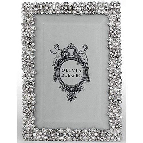 EVIE SILVER Austrian Crystal 4x6 frame by Olivia Riegel - 4x6 ()