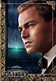 The Great Gatsby (2013) 27 x 40 Movie Poster Leonardo DiCaprio, Joel Edgerton, Tobey Maguire, Style H