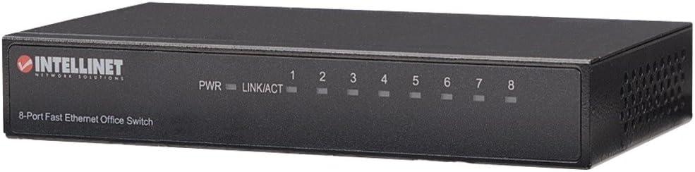 8 Port INTELLINET 523318 Desktop Ethernet Switch electronic consumer