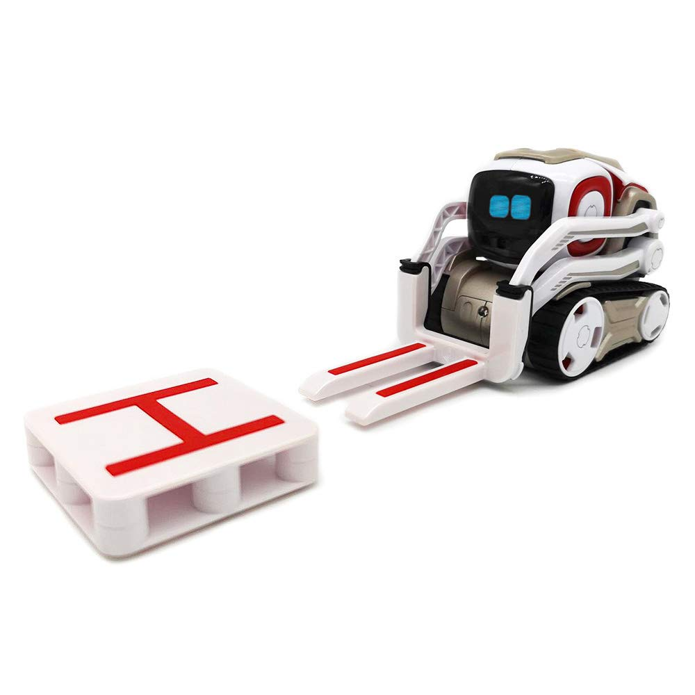 Hexnub Anki Cozmo Lifting-Kit Accessories to Boost Your App-Controlled Toy Robots (White/red)