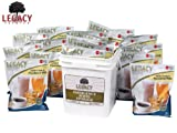 Emergency Powdered Milk & Chocolate Milk Supply - 160 Large Servings Bucket - 14 Lbs - Disaster Insurance Powder Drink Mixes - 25 Year Shelf Life