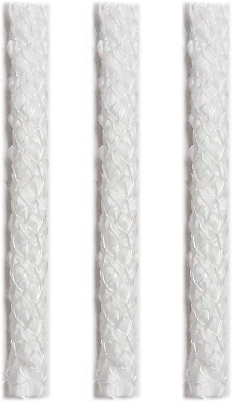Fiberglass Torch Wick 1//2 Round 16 Long Made in USA