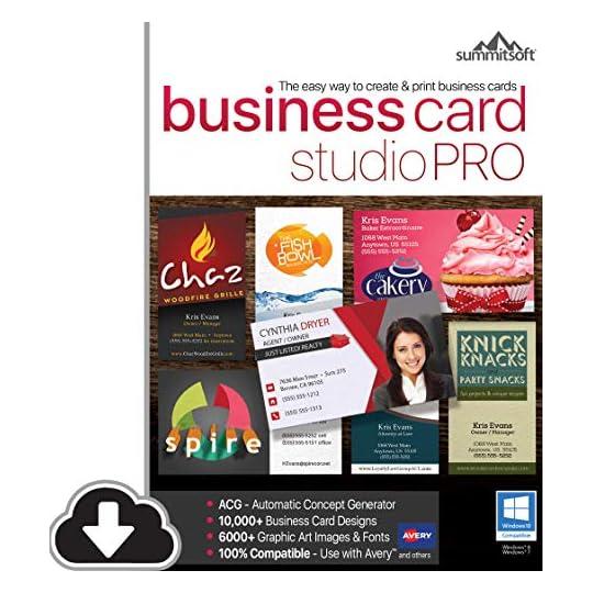 Business Card Studio Pro [PC Download]