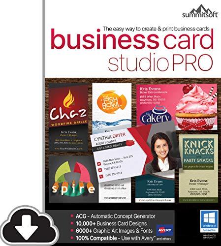 business card software - 3