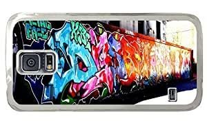 Hipster Personalized custom Samsung Galaxy S5 Cases Graffiti Artwork PC Transparent for Samsung S5