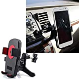 ABC® Universal 360 Degree Car Air Vent Mount Cradle Holder Stand for Cell Phone GPS