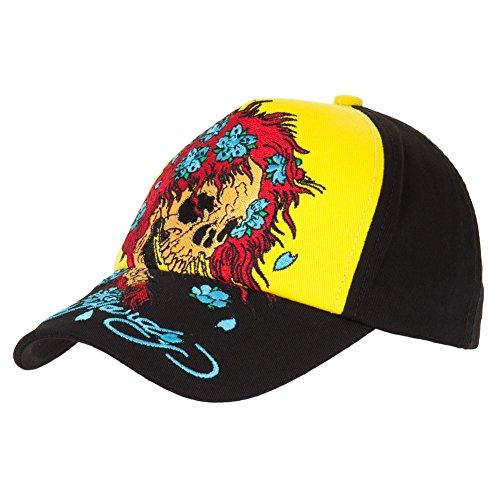 Ed Hardy - Skull Wig Youth Adjustable Baseball Cap