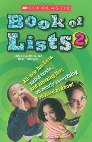 Scholastic Book Of Lists II pdf epub