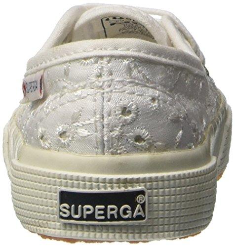 Basso Bambina Superga White Collo A sangallosatinj 2750 Sneaker wxXagqA