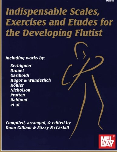 Mel Bay Indispensable Scales, Exercises, and Etudes for the Developing Flutist Flute Lessons