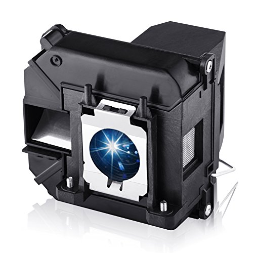 EWO'S Projector Lamp Bulb for Elplp60/v13h010l60 Epson PowerLite 420 425W 905 92 93 95 96W 1835 430 435W 915W D6150 v13h010l61/Elplp61 Replacement Projector Lamp Bulb