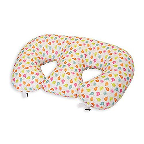THE TWIN Z PILLOW - Waterproof BIRDIES Pillow - The only 6 in 1 Twin Pillow Breastfeeding, Bottlefeeding, Tummy Time & Support! A MUST HAVE FOR TWINS! - No extra cover by Twin Z PIllow (Image #4)