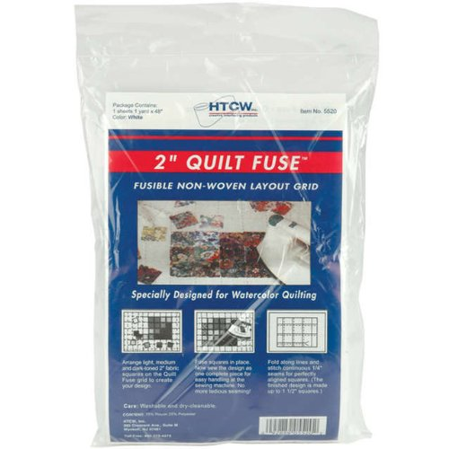 Quilt Fuse Fusible Nonwoven Layout Grid