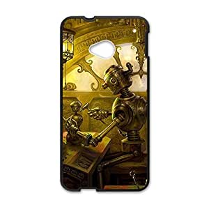 Artistic antique house Cell Phone Case for HTC One M7