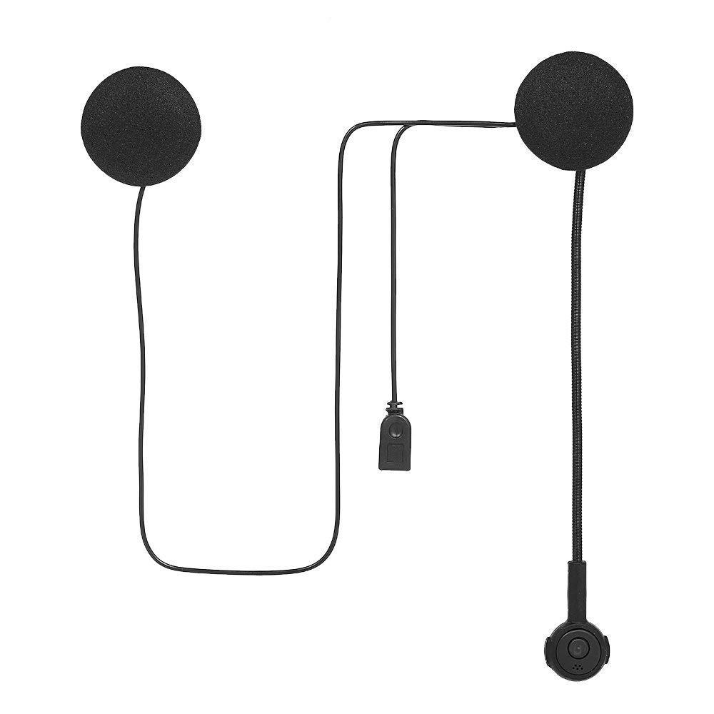 docooler Cuffie per Casco Moto Cuffie Interfoniche Bluetooth Wireless Casco Auricolare Vivavoce con Microfono Music Call Control
