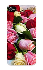 Design High Impact Dirt/shock Proof Case Cover For Iphone 5/5s (bouquet Of Roses )