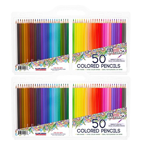 US Art Supply Colored Reusable