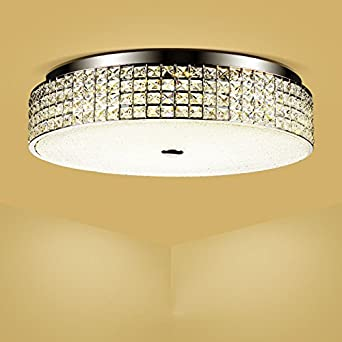 Lámpara colgante de lluvia de cristal Lámpara de techo 30W ...