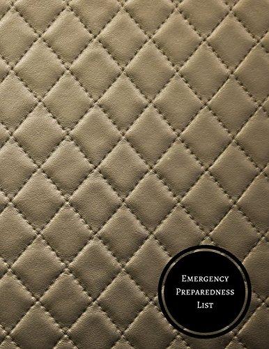 Download Emergency Preparedness List: Disaster Preparedness Checklist ebook