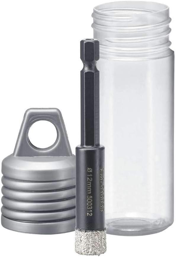 sierra de corona con alojamiento E 6.3 Broca de diamante para taladros kwb corona de diamante de 12 mm de di/ámetro