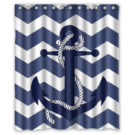 custom special amazing chevron anchor pattern print with