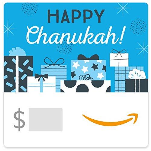 Amazon eGift Card - Eight Chanukah Gifts