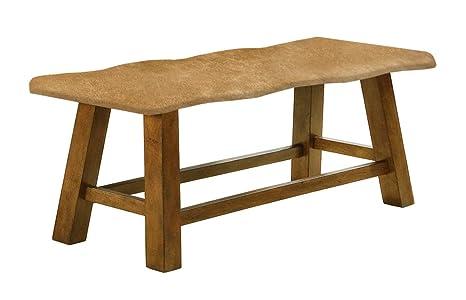 Strange Amazon Com Genuine Cowhide Honey Oak 24 Tall Counter Short Links Chair Design For Home Short Linksinfo